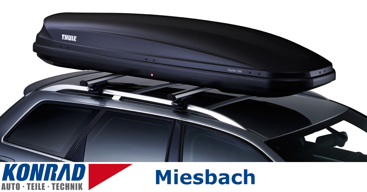 dachbox 420 l thule pacific 700 konrad gmbh. Black Bedroom Furniture Sets. Home Design Ideas