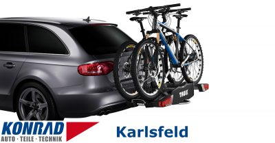 Fahrradträger Verleih Karlsfeld Thule EasyFold 931