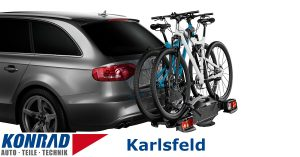 Fahrradträger Vermietung Karlsfeld Thule VeloCompact 924