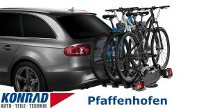 Fahrradträger Vermietung Pffafenhofen Thule VeloCompact 926