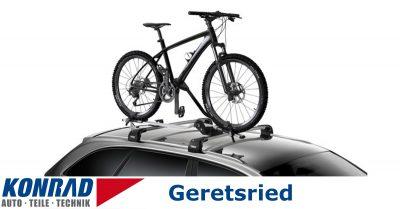 Konrad Fahrradträger Dach Vermietung Geretsried Thule ProRide 598