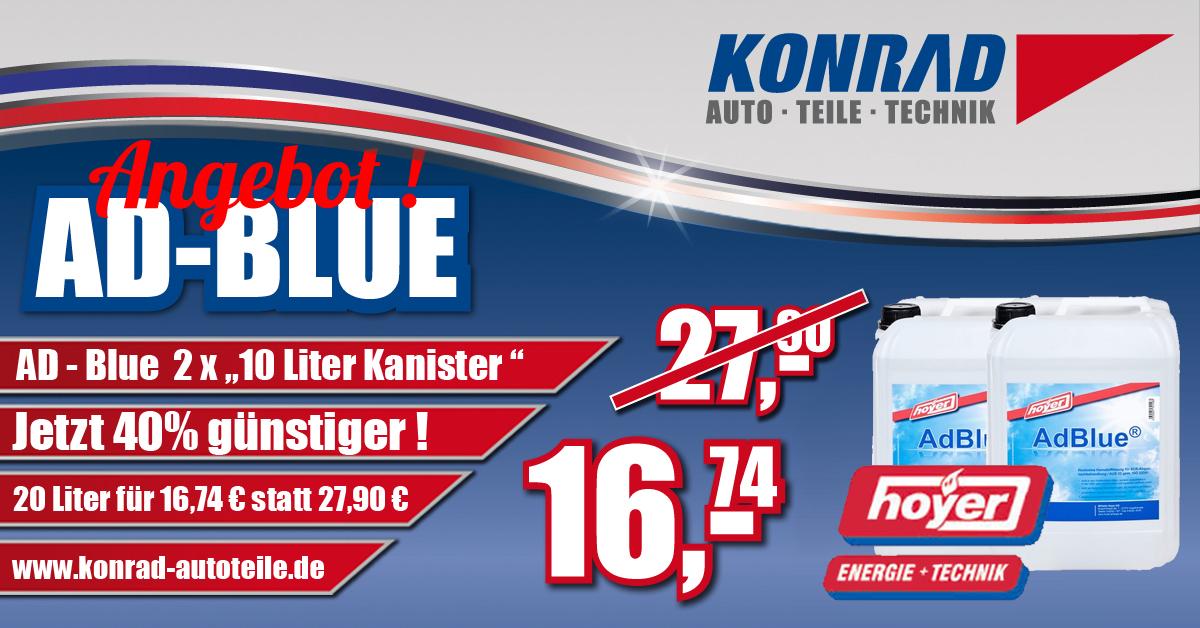 Konrad Ad-Blue Hoyer Angebot