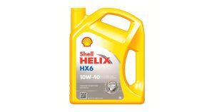 Shell Motoröl HELIX HX6 10W 40 550039794