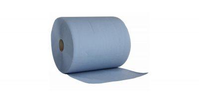 NORDVLIES-Wipex-Putzpapier-2-Rollen-500-Blatt-3-lagen-BlueTech-24805